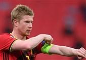 دیبروینه بازی با ایسلند را از دست داد/ اضافه شدن ستاره بلژیک به لیست مصدومان منچسترسیتی