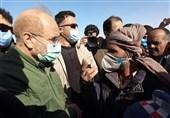 گفتوگوی صریح کشاورزان و حاشیهنشینان زابل با رئیس مجلس / قالیباف: برای پیگیری گلایههای مردم اینجا هستیم + فیلم