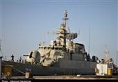 ناوگروه 69 نیروی دریایی ارتش در بندرعباس پهلو گرفت + تصاویر