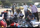 سهشنبه بازار کرونایی در قزوین به روایت تصاویر