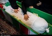 وداع جانسوز مردم مازندران با 5 آلاله خونین خانطومان / شهر بار دیگر به عطر شهدا معطر شد