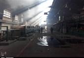 آتشسوزی گسترده در شهرک صنعتی اشتهارد کنترل شد+تصاویر