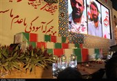 مراسم وداع با شهدای مدافع حرم مازندران به روایت تصویر