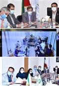 جلسه عملکرد 6 ماهه لعابیران با هلدینگ صدر تامین برگزار شد