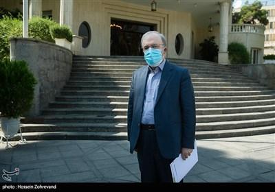 سعید نمکی وزیر بهداشت در حاشیه جلسه هیئت دولت