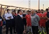 منصوریان باشگاه تراکتور را محکوم کرد
