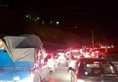 «حیران» باز هم قفل شد! / پیچ و خم ترافیک سنگین آنهم در شرایط بحران همهگیری کرونا