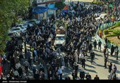 گزارش| تشییع باشکوه پیکر 5 آلاله خونین خانطومان در دیار علویان / مازندرانیها به احترام شهدای مدافع حرم تمامقد ایستادند + فیلم