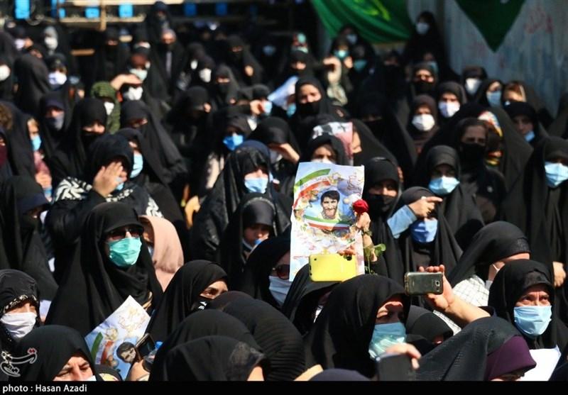 تشییع باشکوه شهید بلباسی در قائمشهر به روایت تصویر