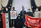 ادای احترام دانشجویان سوری دانشگاه بینالمللی امام خمینی(ره) قزوین به خانواده شهید مدافع حرم + فیلم