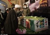 شب وداع با شهید مدافع حرم «ذکریا شیری» در قزوین به روایت تصاویر