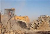 تغییر کاربری زمین کشاورزی ممنوع / 22 بنای غیر مجاز در بروجرد تخریب شد