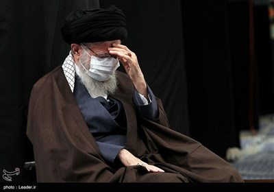 مراسم عزاداری رحلت رسول اکرم(ص) و شهادت امام حسن مجتبی(ع) با حضور رهبر انقلاب
