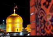 حال و هوای امام رضاییها در حرم شمسالشموس / دلتنگی زائران و مجاوران برای حرم منور رضوی+فیلم