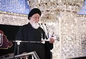 واکنش آیتالله علمالهدی به اظهارات رئیس جمهور / خواص امام حسن (ع) را مجبور به متارکه جنگ کردند پای مردم وسط نبود