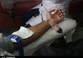 حال و هوای مرکز انتقال خون بجنورد در روز شهادت امام رضا(ع) به روایت تصاویر