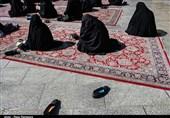 عزاداری مردم پردیس در جوار شهدای گمنام در سالروز شهادت امام رضا (ع) + فیلم