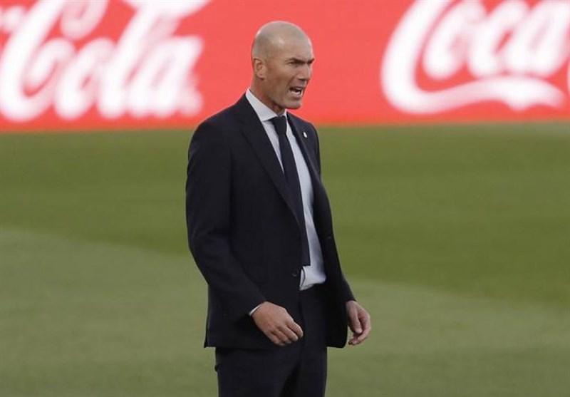 زیدان: برخی بازیکنان رئال مادرید زمان استراحت ندارند/ باید دنبال راه حل باشم