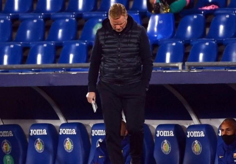 کومان پس از قبول اولین باخت در بارسلونا: نمیدانم اصلاً VAR در بازی بود یا نه!