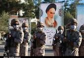صبحگاه مشترک نیروهای مسلح در استان سمنان برگزار شد