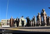 مراسم صبحگاه نیروی انتظامی استان کرمان به روایت تصویر