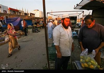 بازار هفتگی آق قلا - گلستان