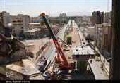 آخرین وضعیت تقاطع غیرهمسطح سربازان گمنام کرمان به روایت تصویر