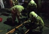 کشف جسد زن مسن از داخل منزل سوخته محله استخر + تصاویر