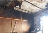 آتش سوزی ساختمان شهرداری پلدختر مهار شد
