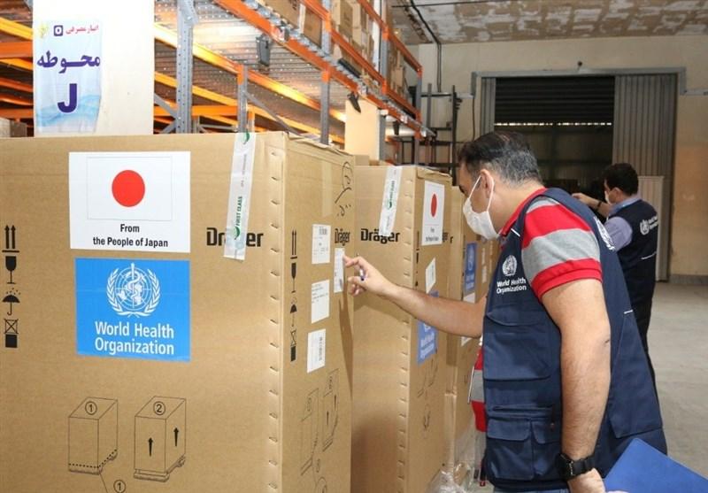 WHO Supplies Iran with Ventilators, PCR Machines amid Pandemic