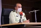 تجلیل فرمانده انتظامی کردستان از مدافعان سلامت + فیلم