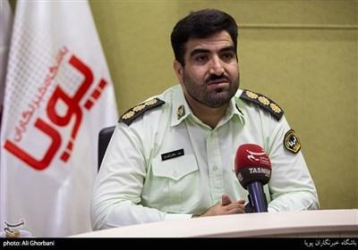 سرهنگ داود گودرزی رئیس پلیس فتا استان تهران