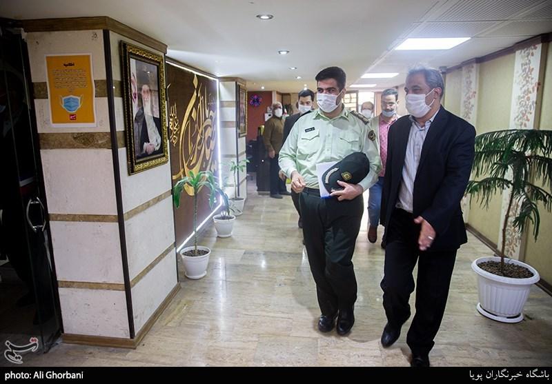حضور رئیس پلیس فتا استان تهران در باشگاه خبرنگاران پویا
