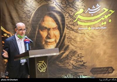 سعید بیابانکی در مراسم شب شعر حبیب حرم نکوداشت سردار شهید حسین همدانی