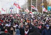 بازداشت گسترده در جریان اعتراضات روز یکشنبه در پایتخت بلاروس