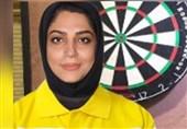 صعود زهرا رجبی به مرحله حذفی رقابتهای دارت مجازی قهرمانی جهان