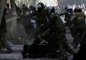 تظاهرات اعتراض آمیز مردم شیلی با دخالت پلیس به خشونت کشیده شد