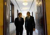 عراق|دیدار الکاظمی با ماکرون در پاریس