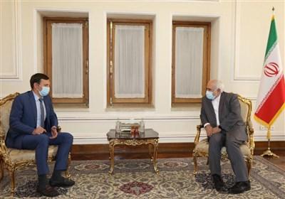 Ukrainian Deputy FM Meets Zarif in Tehran