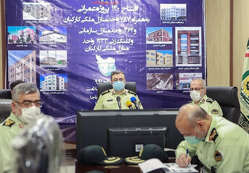 اشتری: مردم بهترین بازرسان ما هستند/ تأکید رئیس پلیس کشور بر پیگیری مطالبات مردمی توسط فرماندهان انتظامی