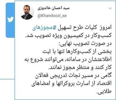 قانون بهبود مستمر محیط کسب و کار , کمیسیون اقتصادی مجلس شورای اسلامی ایران ,