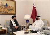 اجرای توافقنامه دوحه محور گفتوگوی وزیر خارجه قطر با معاون طالبان