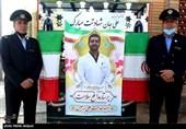 تشییع پیکر نهمین مدافع سلامت گلستان / علی برجیس در گلستان شهدا آرام گرفت + تصاویر