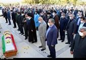 مردم مازندران با شهید تازه تفحص شده ارتش وداع میکنند