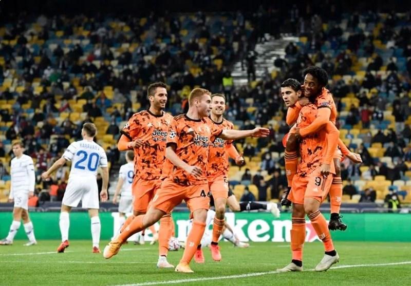 لیگ قهرمانان اروپا| پیروزی یوونتوس در اولین آزمون اروپایی پیرلو/ شکست زنیت در حضور سردار آزمون