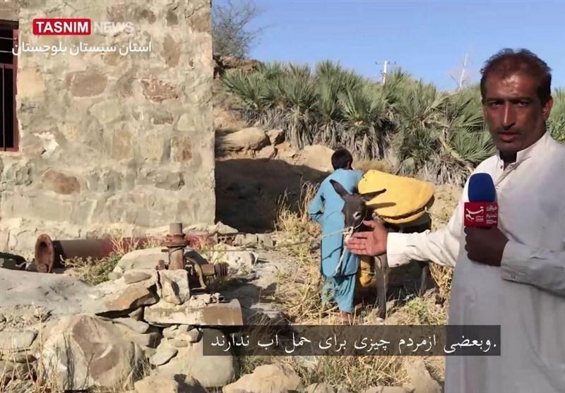 گزارش ویدیوئی  روایت تسنیم از بحران آب در شرق سیستان و بلوچستان / مردمانی که با چهارپا آب مورد نیازشان را تامین میکنند