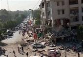 صنعتی شہرکراچی میں دھماکہ، متعدد افراد ہلاک یا زخمی+ تصویر