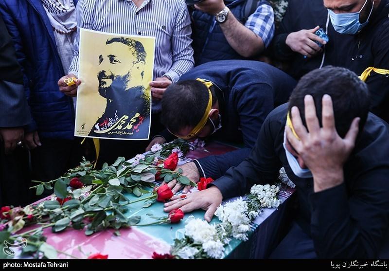تشییع پیکر شهید امربه معروف محمد محمدی
