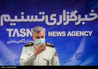 حضور رئیس پلیس آگاهی در خبرگزاری تسنیم