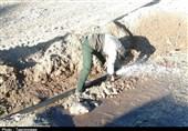 """آبرسانی به روستای زلزلهزده """" ویرو"""" توسط جهادگران بسیجی/ سپاه گلستان به 30 روستا آبرسانی کرد"""